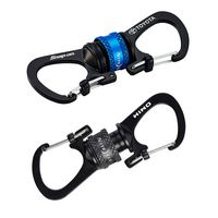 Nite Ize® Sildelock™ 360° Magnetic Locking Dual Carabiner