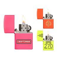 Neon Color Windproof Zippo