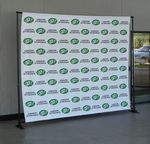 Custom 10' Frame Style Banner Backdrop Display