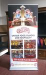 Custom Retractable Banner Stand with 36