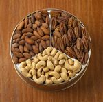 Custom 24 Oz. Cashews/ Almonds/ Pecans Custom Gift Tin