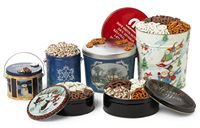 6 1/2 Gallon Mini Pretzel Designer Tin