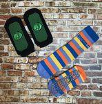 Custom Custom Knitted Gripper Socks