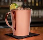 Custom 14 Oz. Moscow Mule Mug - The Riveted Copper
