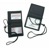 Bi-Fold Neck Wallet