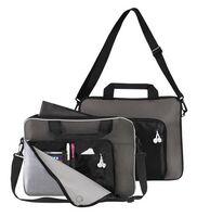 "15"" Briefcase / Portfolio with Padded Notebook Pocket /Sleeve"