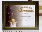 Custom Black Leatherette Certificate Holder Frame