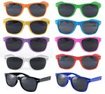 Fun Color 80's Style Sunglasses