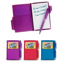 Mini Pocket Notebook w/ Pen