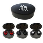 Custom Wireless Bluetooth Earbuds with Charging Base