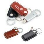 1GB Faux Leather USB Flash Drive