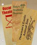 Wood Bookmark
