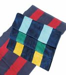 Custom Rugby Striped Velour 20 lb/dz Velour Beach Towel (Blank)