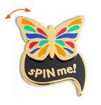 Custom sPiNS Interactive Lapel Pin (1½