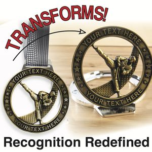 Medal Morphers - The Wearable, Transformable, Displayable Award