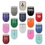 12 oz. Stemless Wine Tumblers