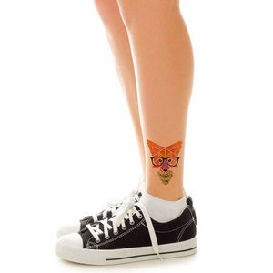 Hipster Geometric Fox Temporary Tattoo - 6222 - IdeaStage ...