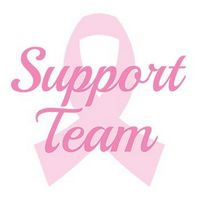 Breast Cancer: Support Team Temporary Tattoo