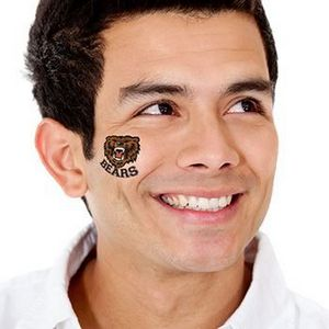 Bears Mascot Temporary Tattoo - SPO2-10 - IdeaStage Promotional Products