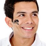 Panthers Temporary Tattoo