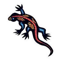 Gecko Temporary Tattoo
