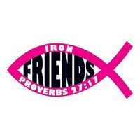 Jesus Fish: Friends Temporary Tattoo