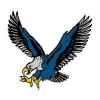Blue Eagle Temporary Tattoo
