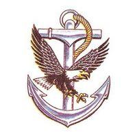 Eagle and Anchor Temporary Tattoo