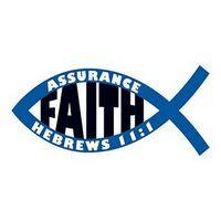Jesus Fish: Faith Temporary Tattoo