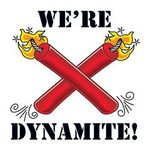 We're Dynamite Temporary Tattoo