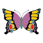 Custom Elegant Butterfly Insect Temporary Tattoo