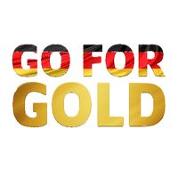 Go For Gold Germany Temporary Tattoo