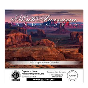 Stapled Wall Calendar (Landscapes of America)
