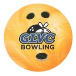 Custom Full Color Process 40 Point Bowling Ball Pulp Board Coaster