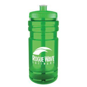 Custom Imprinted Green Color Sport Bottles