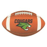 Full Color Process 60 Point Football Pulp Board Coaster