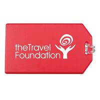 Standard Luggage Tag w/ Attached Strap