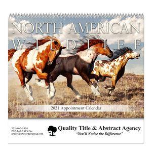 Spiral Bound Wall Calendar (North American Wildlife)