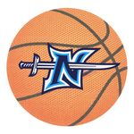 Custom Full Color Process 40 Point Basketball Pulp Board Coaster