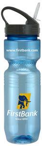 26 Oz Translucent Jogger Bottle w/ Sport Sip Lid