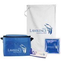 6 Pack Cooler Bag Golf Gift Set