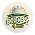 Full Color Process 40 Point Golf Ball Pulp Board Coaster