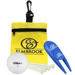 Custom Golf-in-a-Bag Gift Set