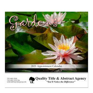 Custom Printed Gardens Appointment Calendars