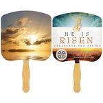Religious Hand Fan/ Sunrise