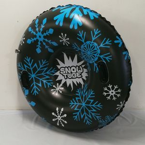Custom 47'' Inflatable Float Tube Snow Tube With Handle
