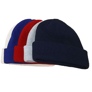 Winter Ribbed Roll Up Knitted Beanie Hat - CA02707 - IdeaStage Promotional  Products 9b39b8d52158