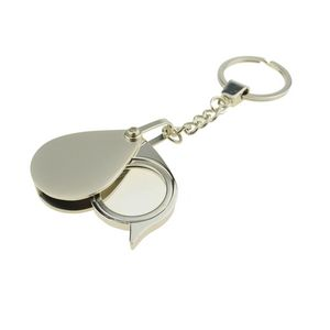 Custom Keychain with Magnifier