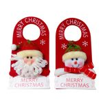 Custom Christmas Holiday Door Hanger