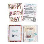 Custom InstaCake Birthday Cake in a Card